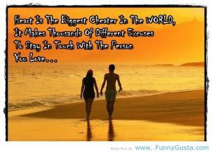 New Year love quotes the biggest cheater in the world | funny pictures ...