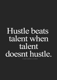 Talent is wasted if you aren't willing to put it to use. Love this ...
