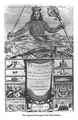 leviathan and society today Thomas hobbes: from classical natural law was recognized as a type of higher law that spelled out universal truths for the moral ordering of society based on a rational understanding of human nature thomas hobbes, leviathan, 111-2.