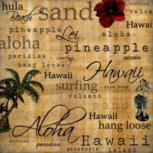Scrapbook Customs - United States Collection - Hawaii - 12 x 12 Paper ...