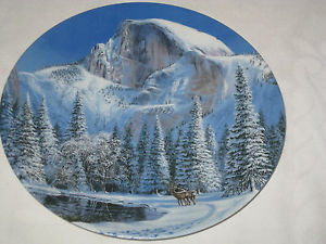 Blue Snow at Half Dome by Jean Sias 1990 W L George Plate 7086 B