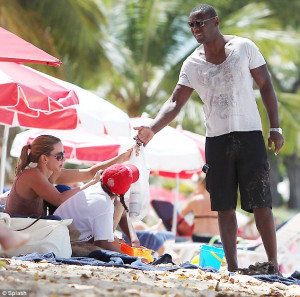 You may now kiss the bride! Homeland star David Harewood marries long ...