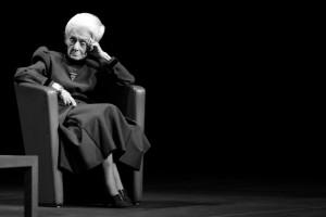 Rita Levi Montalcini, photo by Patrizia Genovesi ©