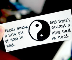 Tagged with yin yang quote