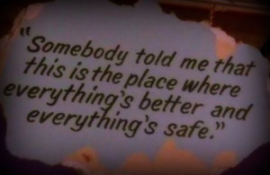 ... tags for this image include: one tree hill, oth, quote, love and safe
