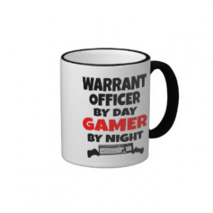 Gamer Warrant Officer Ringer Mug