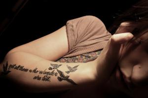 birds, girl, inspiration, lost, photography, tattoo