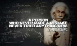 Made mistake quotes
