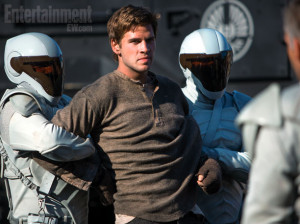 Gale being restrained by Peacekeepers.