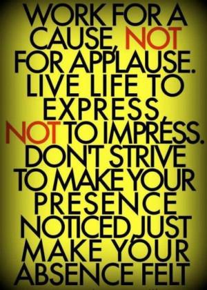 great volunteer mantra.