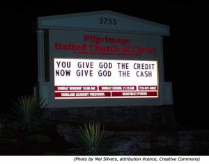 Silly signs: Funny church signs: Pilgrimage United Church of Christ ...