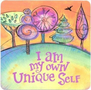 am unique. (Louise Hay affirmation): Inspiration, Hay Affirmations ...