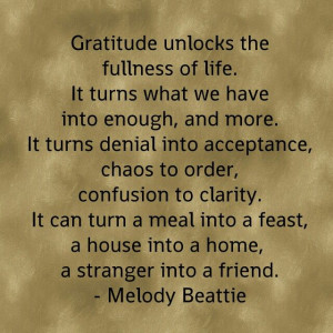 quote by Melody Beattie.