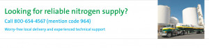 ... provides large-volume nitrogen supply options for your business