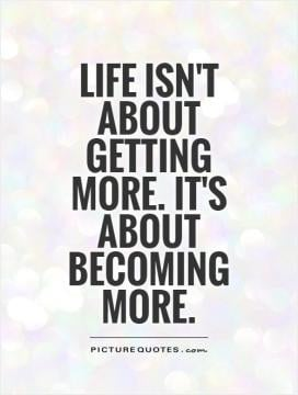 healthy lifestyle quotes sayings Life isn't about getting