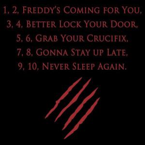 Freddy Rhyme in A Nightmare on Elm Street (1984)