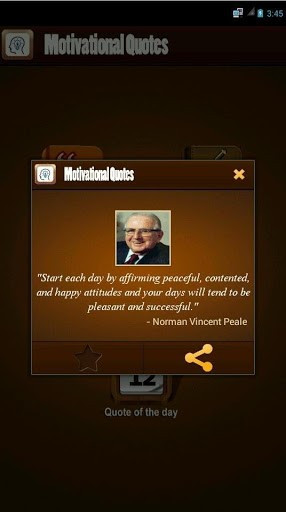 Quotes: This app have nice collection of motivational quotes ...