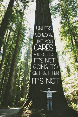 Unless Someone Like You Cares A House Lot It's Not Going To Get ...