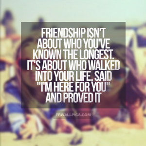 Real Friendship Quote Picture