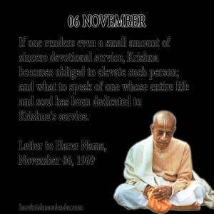 November Quotes ~ Srila Prabhupada's Quotes In November   Hare Krishna ...