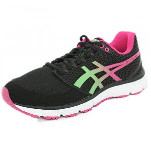 Baskets running Asics GEL VOLT33 noir framboise Baskets running