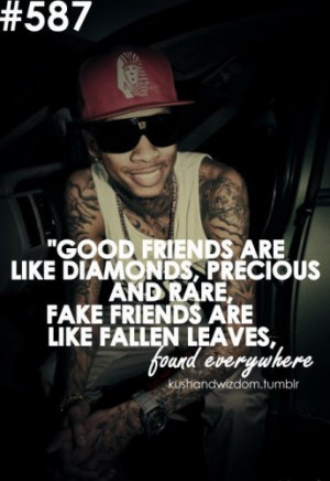 kushandwizdom #kush #yolo #quote #friends #fake #wizkhalifa