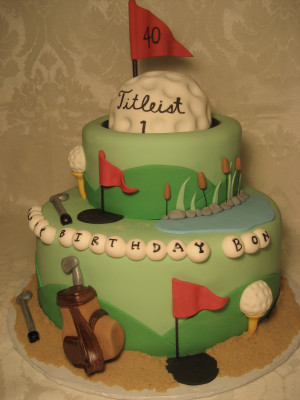 Funny 40th Birthday Cakes for Men