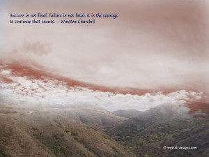 Motivational Wallpaper On Success And Courage /