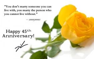 45th Wedding Anniversary Decorations (Source: glennamoore.typepad.com)