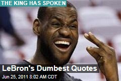 LeBron James Basketball: Dumbest Quotes of His Career