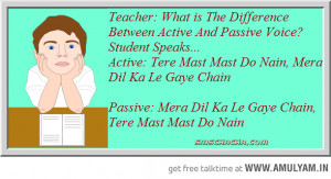 Teacher to Student Funny Conversation - Rekha