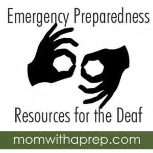 Emergency Preparedness Resources for the Deaf and Hard of Hearing