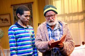 Athol Fugard takes the role ofOupa alongside Marviantos Baker as