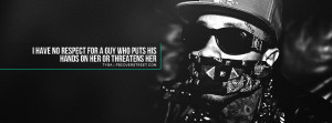 Tyga Domestic Abuse Quote Facebook Cover