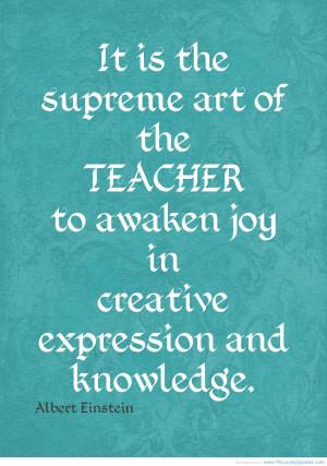 Inspirational Teacher Quotes For Desktop