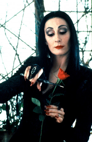 morticia addams now morticia the iconic matriarch of the addams family ...