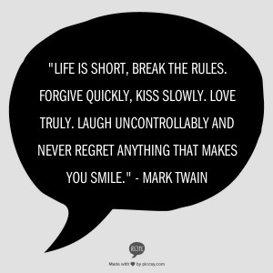 Great Mark Twain quote...does a not-great Mark Twain quote even exist?