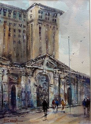 Old Detroit Train Station