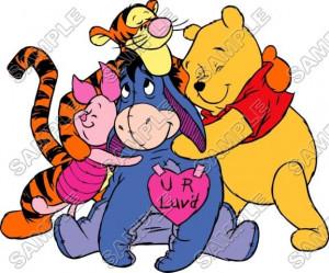 Winnie The Pooh Tiger | Winnie the Pooh Eeyore Tiger T Shirt Iron on ...