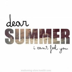 Dear Summer
