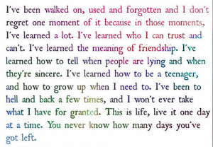 Growing up Quotes for Teenagers http://www.tumblr.com/tagged/being%20a ...