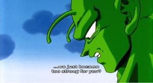 power statements regarding Piccolo's Android saga level