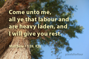Bible verse on God's comfort