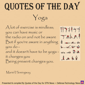 Quotes of the Day MARCH 26 2012 Funny Yoga Quotes