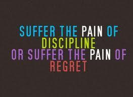 ... discipline that lasts is self discipline life without discipline is