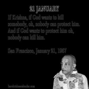 Srila Prabhupada Quotes For Month January 21