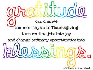 ... change ordinary opportunities into blessings. - William Arthur Ward