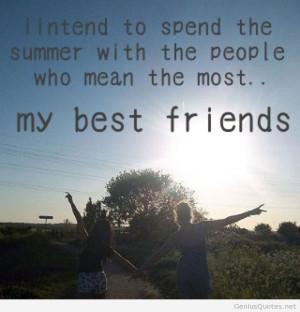 Best friends on summer22