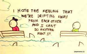 ... boats, cute, drawing, drifting, feeling, hate, love, ocean, quote, sha