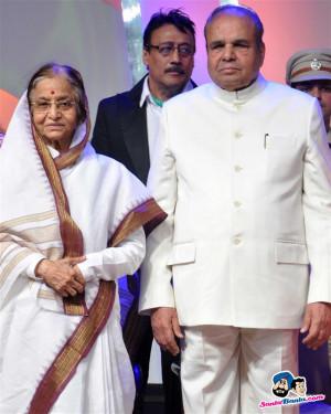 Pratibha Patil and Jackie Shroff